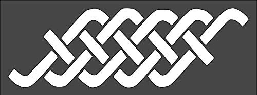 1 PCS Custom Cut Stencil Celtic Knot Border Crafts, Arts, Scrapbooking - Painting on The Wall, Wood, Glass and Other