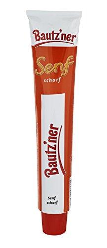 BAUTZ'NER Scharfer Senf, 10er Pack (10 x 100 ml)