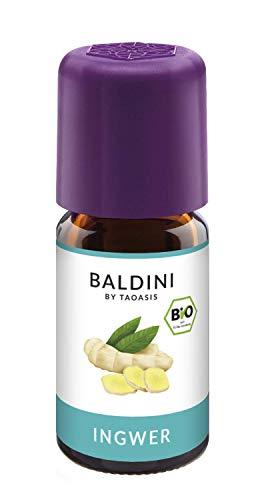 Baldini - Ingweröl BIO, 100% naturreines ätherisches BIO Ingwer Öl, Bio Aroma, 5 ml