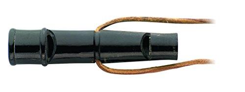 Herbertz Hundepfeife Büffelhorn 60mm Signalhörner Und Pfeifen, blau, M