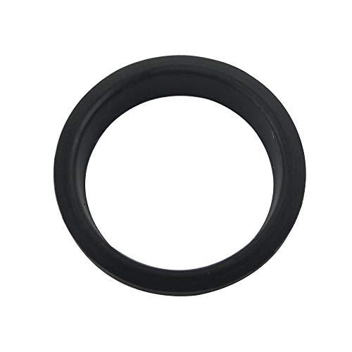 NO LOGO W-NUANJUN-Spring, 1pc / 5pcs Schwarz NBR Pneumatikzylinder O-Ring-Dichtung F Typ 6x10x1.5 / 3mm Zylinderlaufbuchse Dichtung Stangendichtung 50x58x3 / 6mm Kolbendichtring