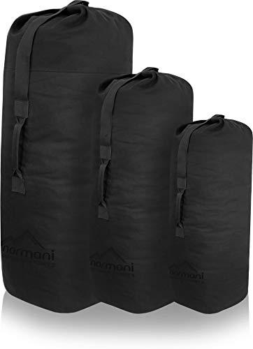 normani US Seesack (Transportsack) Farbe Schwarz Größe 105x 60 cm