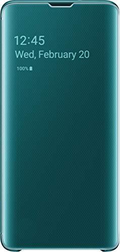 Samsung EF-ZG973CGEGWW Clear View Custodia per S10, Verde