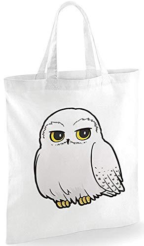 S Eule Hedwig Harry Potter Original Einkaufstasche Stofftasche Bag Logo