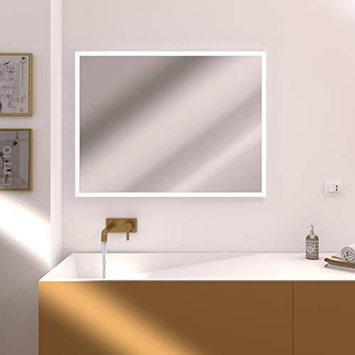 Specchio Bagno 120 X 60.Bagno Styleglassitalia Com Specchio Bagno Atena Retroilluminato Cm