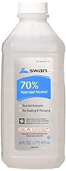 Swan Isoprophyl Alcohol 70% 16 Fl Oz  Pack of 6