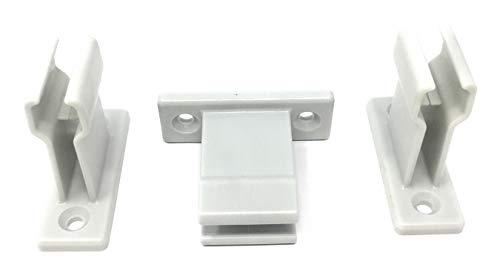 3 Stück Kurbelhalter grau für Gelenkkurbel bzw. Kurbelstange