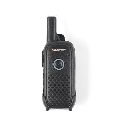 Walkie Talkies, Mini Walkie Talkies Recargables portátiles, Radios bidireccionales UHF de 16 Canales de Largo Alcance 400-470Mhz