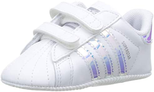 adidas Superstar Crib, Zapatillas Unisex niños, Blanco (Footwear White/Footwear White/Core Black 0), 17 EU