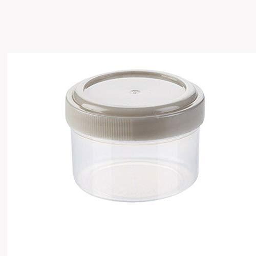 STRAW Inicio en el hogar de la Especia Caja Jam Botella de Plástico de Cocina Botella plástica Ensalada Squeeze Vestir condimento dispensador (Size : A)