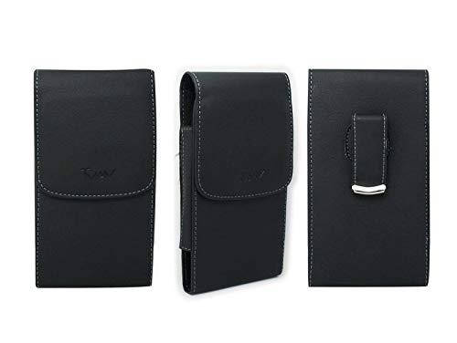 yan Black Leatherette Case Pouch Belt Holster w...