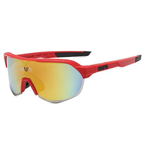 Mazu Homee Gafas de sol deportivas con lupa para hombre y mujer, ciclismo al aire libre, tinta colorida (6 tipos de color opcional)