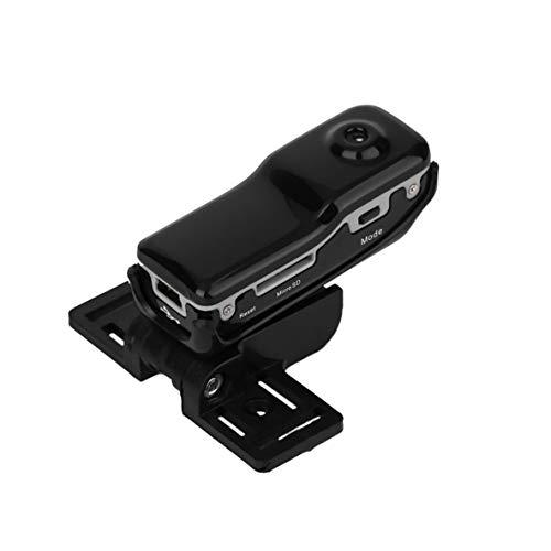 ACEHE Mini cámara Dv de Alta resolución, Mini videocámara Dv Dvr de Alta resolución Cámara de Video Grabadora de cámara Web Cámara Deportiva para Bicicleta/Moto Grabadora de Audio y Video