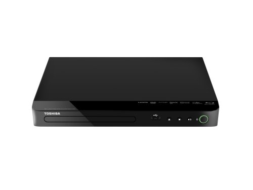 Toshiba BDX1500KE Blu-ray Player (Full HD, BD-R, BD-RE, HDMI, USB 2.0) schwarz