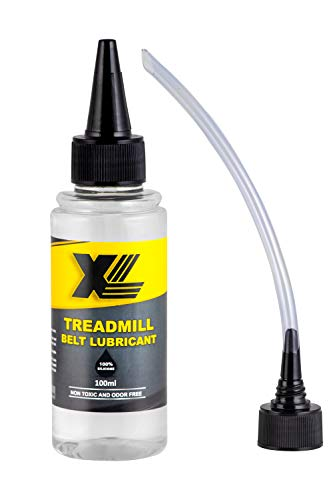 XL Silicone Oil Lubricant for Treadmill Belt (100ml Bottle) + Easy Applicator
