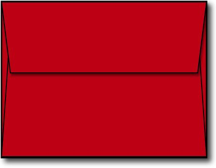 Rot A2Umschläge–250Umschläge–Desktop Publishing Supplies ™ Marke Briefumschläge