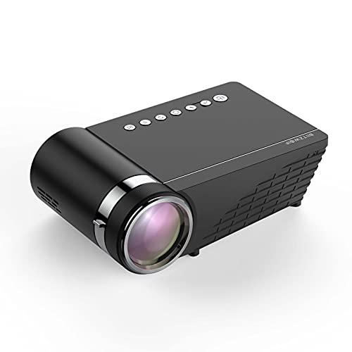 Mini proyector WiFi 5500Lumens LCD LED Pantalla de fundición para el tono de audífono Sound Wireless Teléfono Mismo Pantalla Full HD 1080p