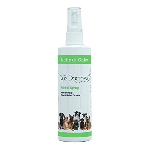Spray calmante para perros The Dog Doctors – Solución ideal para perros de remedio para viajes o en momentos de necesidad, 240 ml