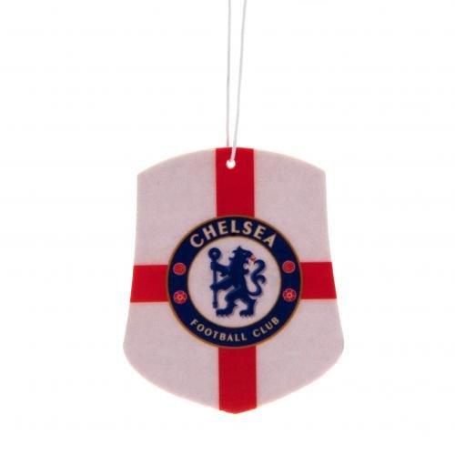 Coche Accesorios–Ideas de regalo de St George–Ambientador para coche, diseño de balón de fútbol oficial del Chelsea FC