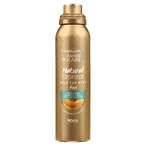 Garnier Ambre Solaire Natural Bronzer Face Mist 75 ml , Ultra-Fine Mist For An Intense & Streak-Free...