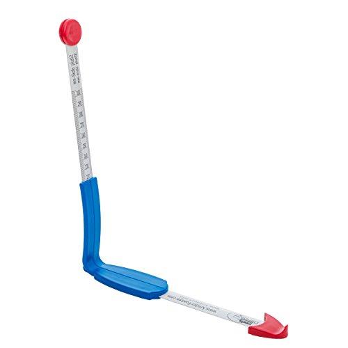 plus12: Fuß- und Innenschuhmessgerät, Millimeterskala (von Größe 18-45)