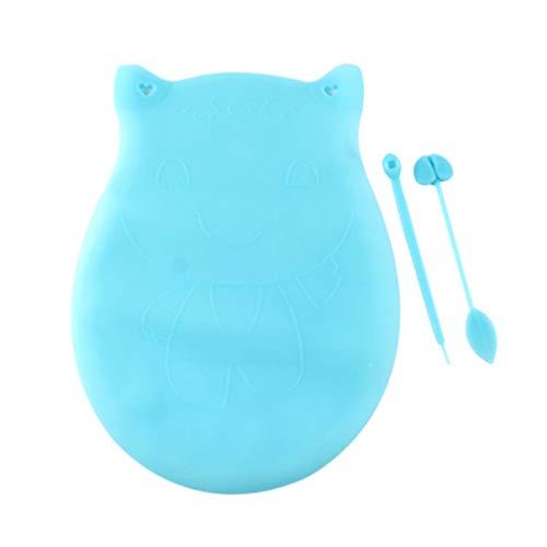 UPKOCH Sac de Pâte à Pétrir Au Silicone Sac de Protection sous Vide en Silicone Réutilisable pour La Cuisson du Pain Surgelé (Petite Taille Bleu Ciel)