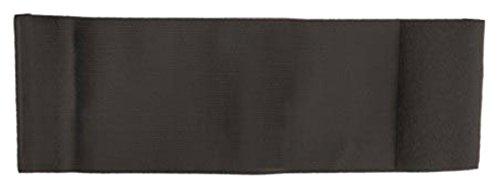 Unbekannt größenverstellbare Armbinde bedruckt mit IHREM INDIVIDUELLEM TEXT (SENIOR 25-36 cm) (Farbe schwarz)