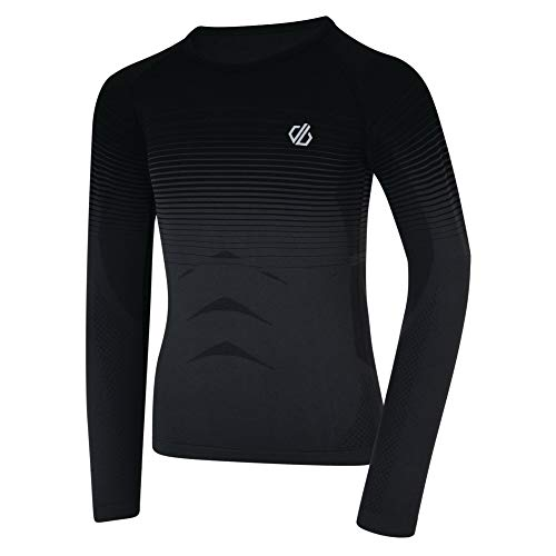 Dare 2b in The Zone Base Layer Mixte Enfant, Black Gradient, FR : L (Taille Fabricant : L)