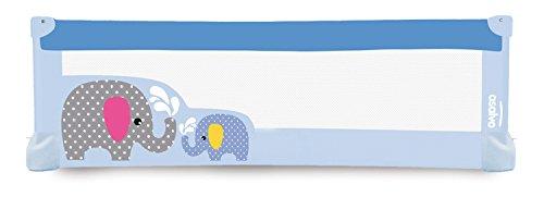 Asalvo–Barrera de cama 150x 43,5cm) azul azul