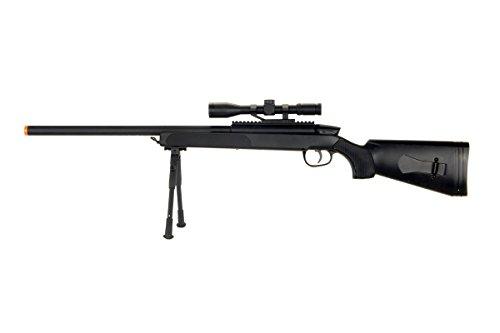 CYMA zm51 Spring Airsoft Gun Sniper Rifle fps-400 w bipod, Scope(Airsoft Gun)