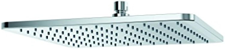 Groer Duschkopf Tellerkopfbrause für überkopfbrause. KLUDI A-QA eckig 30 cm 6453005-00