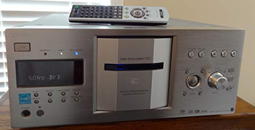 Sony DVP-CX777ES 400-Disc DVD/SACD Changer (Silver)