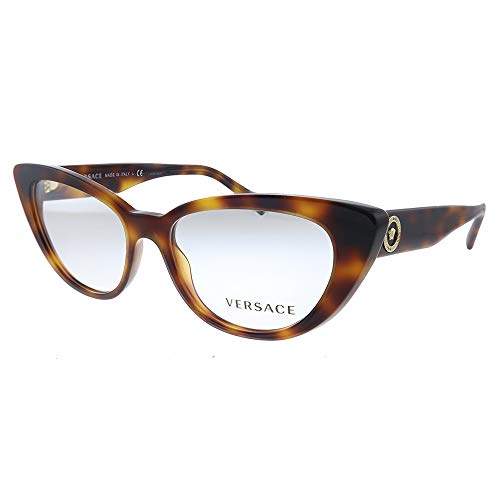 Occhiali da vista Versace MEDUSA ICON VE 3286 HAVANA 52/16/140 donna