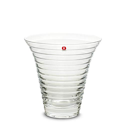 Iittala Aino Aalto Glas Vase klar 165 mm Design Aino Aalto 1932