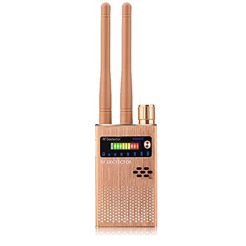 NMVB Detector de cámara Oculta Antena Dual Señal RF Antiespía Detector de cámara sincera Escuchas Estenopeicas Audio Bug GPS Buscador de Dispositivos gsm