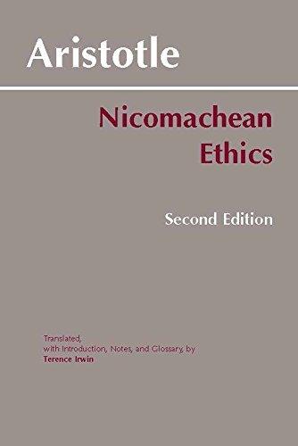 Nicomachean Ethics     **ISBN: 9780872204645**