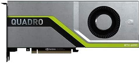 HP R0Z45A NVIDIA Quadro RTX 6000 Graphics Accelerator - Graphics Card - Quadro RTX 6000-24 GB GDDR6 - PCIe 3.0 X16-4 X DisplayPort, USB-C - for Pr