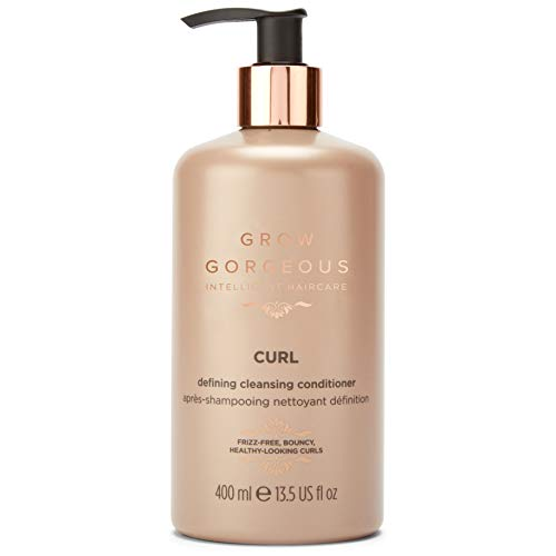 Grow Gorgeous Curl Defining Cleansing Hair Conditioner, 400ml
