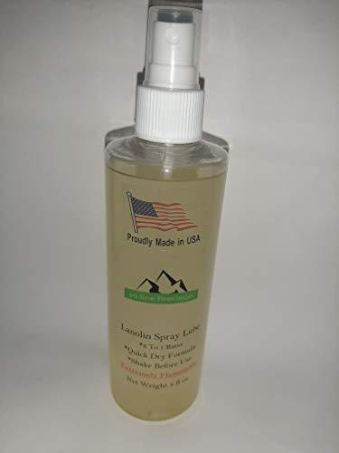 Hi-Line Precision Lanolin Spray lube 8 fl oz (Reloading case lube)