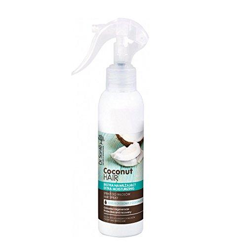 Dr. Sante Extra feuchtigkeitsspendendes Spray mit Kokosöl für trockenes und sprödes Haar, White, 150 ml