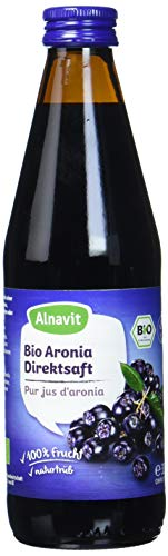 Alnavit Bio Aronia Muttersaft, vegan, 6er Pack (6 x 330 ml)