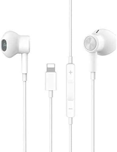 Headphones for i Phone i Pad Phone 11 Headphones Wired in Ear Magnetic Earbuds with Mic Volume product image