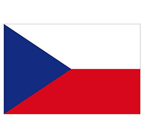 Supstick Sticker Land Vlag Tsjechië 18 x 12 cm