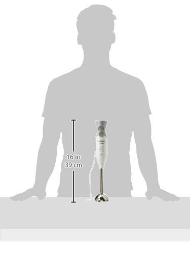 Bosch MSM66110 ErgoMixx Mixeur-Plongeur 600 W, Blanc/Gris
