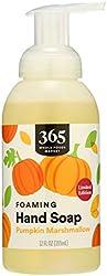 365 by Whole Foods Market, Hand Soap Foaming Pumpkin Marshmallow, 12 Fl Oz