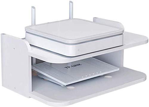 Rack De Pared, Rack De Enrutador WiFi De Pared/Decodificador De TV, Caja De Decoración De Enrutador De Pared, Rack Flotante