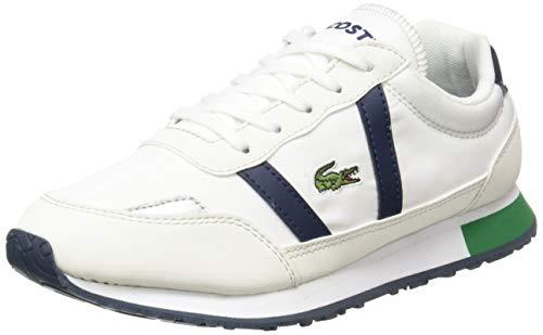 Lacoste Unisex-Kinder Partner 319 1 Suj Sneaker, Weiß (Off White/Navy Wn1), 35 EU