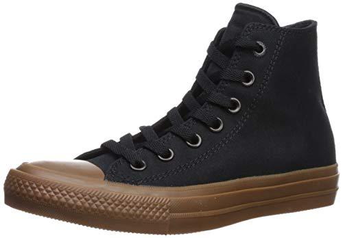 Converse Chuck Taylor All Star II Shield Canvas Hi Black/Volt/Gum Lace up casual Shoes