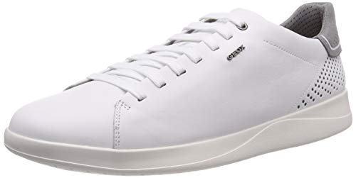 Geox Herren U KENNET B Sneaker, Weiß (White C1000), 43 EU