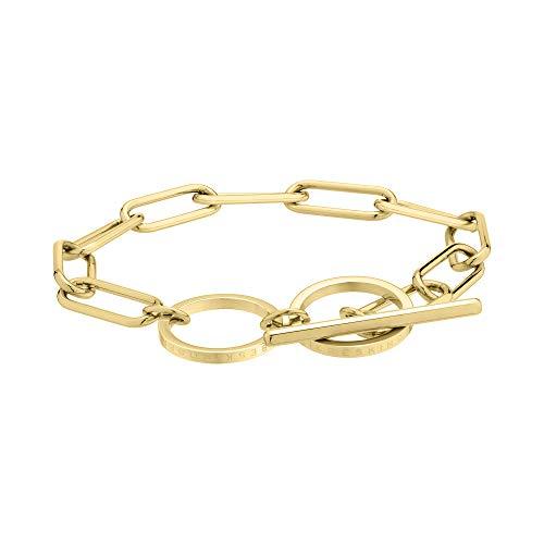 Liebeskind LJ-0436-B-20 Damen Armband Edelstahl Gold 19 cm